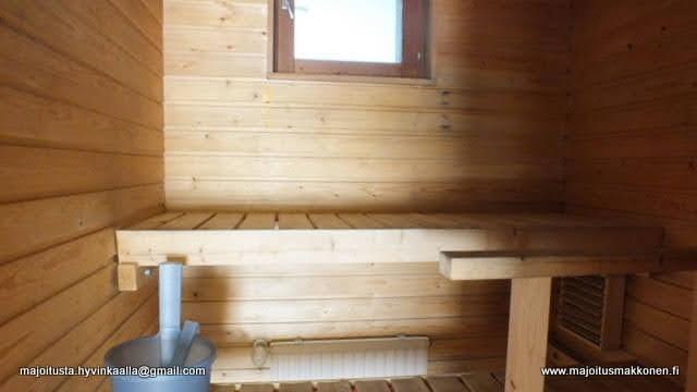 AirBnB asunto Hyvinkää sauna