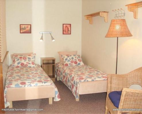 Majoitus Hyvinkää kalustetut asunnot erilliset vuoteet